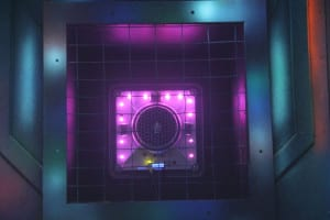 Photo Of The Laser Tag Base Target - Ultrazone
