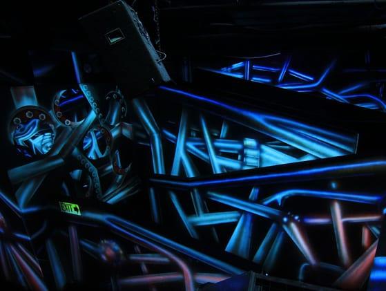 Laser Zone Wall Art - Ultrazone