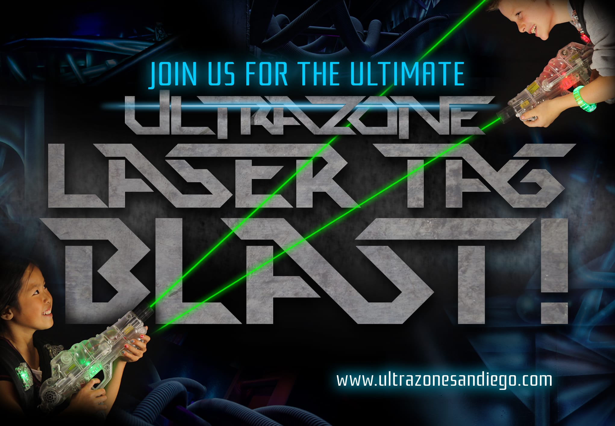 San Diego Laser Tag Birthday Party & Events - ULTRAZONE ...