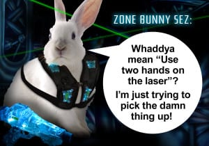 Laser Zone Bunny Sez: Two Hands On The Lazer - Ultrazone