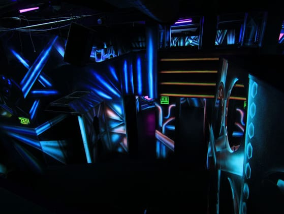 The Underground City Of Laser Tag - Ultrazone