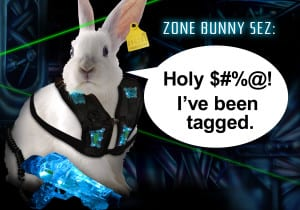Laser Zone Bunny Sez: I've been Tagged - Ultrazone