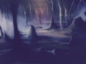 Laser Arena Artwork - A Massive Underground Cave - Ultrazone