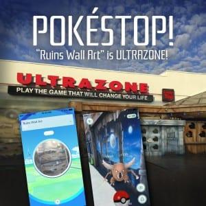 PokéStop at Ultrazone