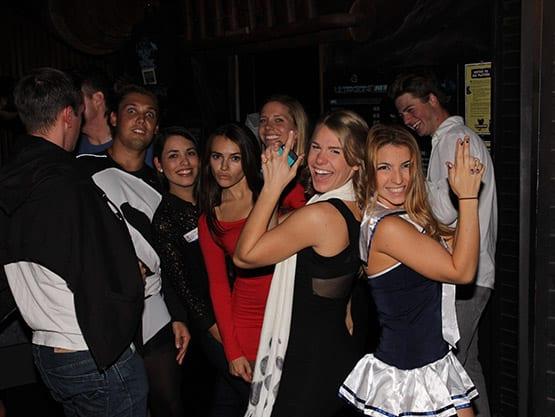 People having fun!